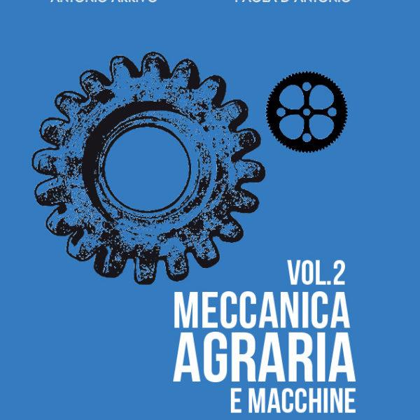 PROPOSTA 1 AZZURRO meccanica agraria volume 2 copertina