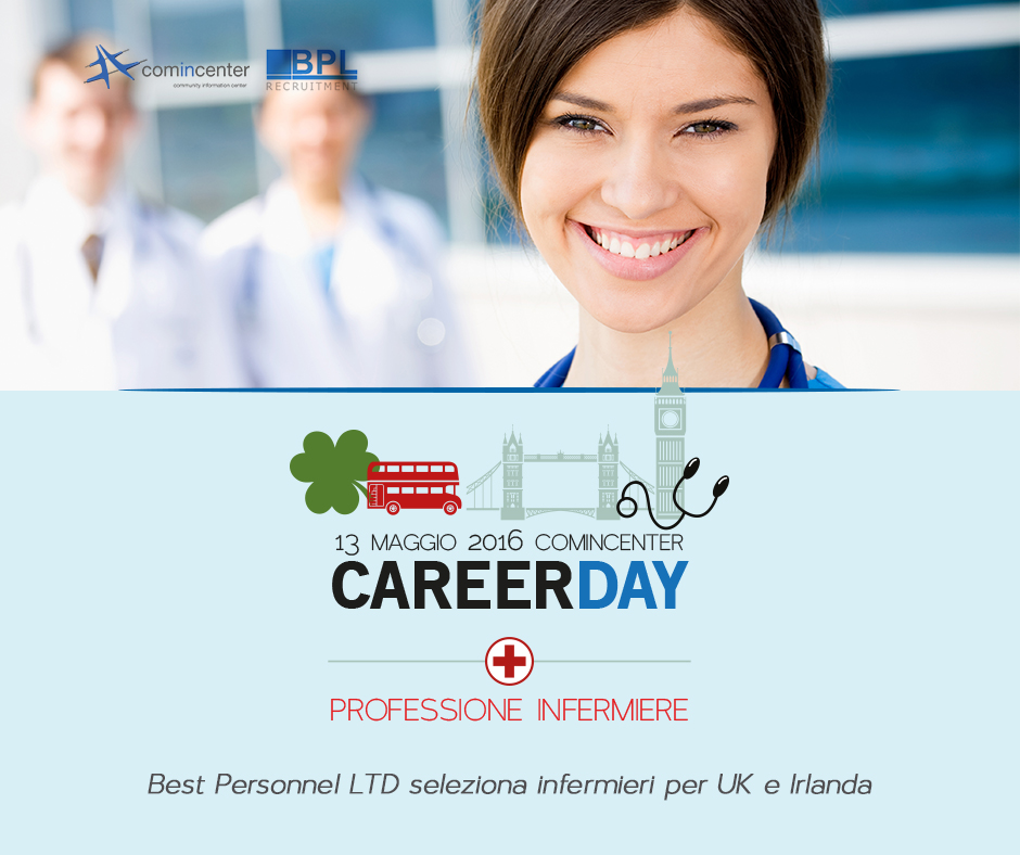 career Day per infermieri in Uk e Irlanda,